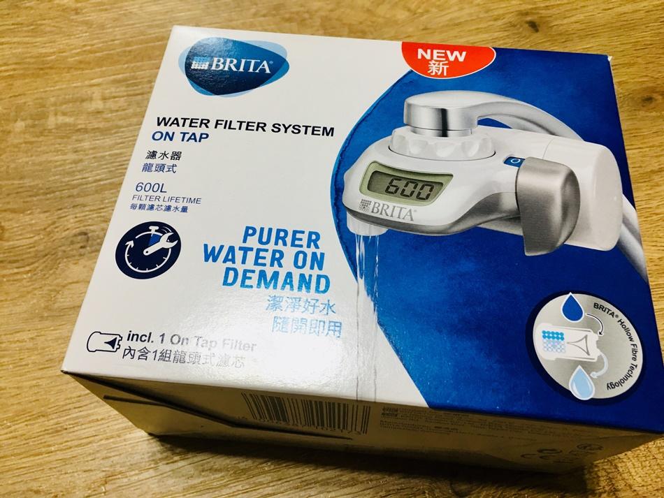 家用濾水器推薦德國BRITA OnTap濾菌龍頭式濾水器,台南30年透天,我對自來水沒信心有了BRITA讓我喝水更安心