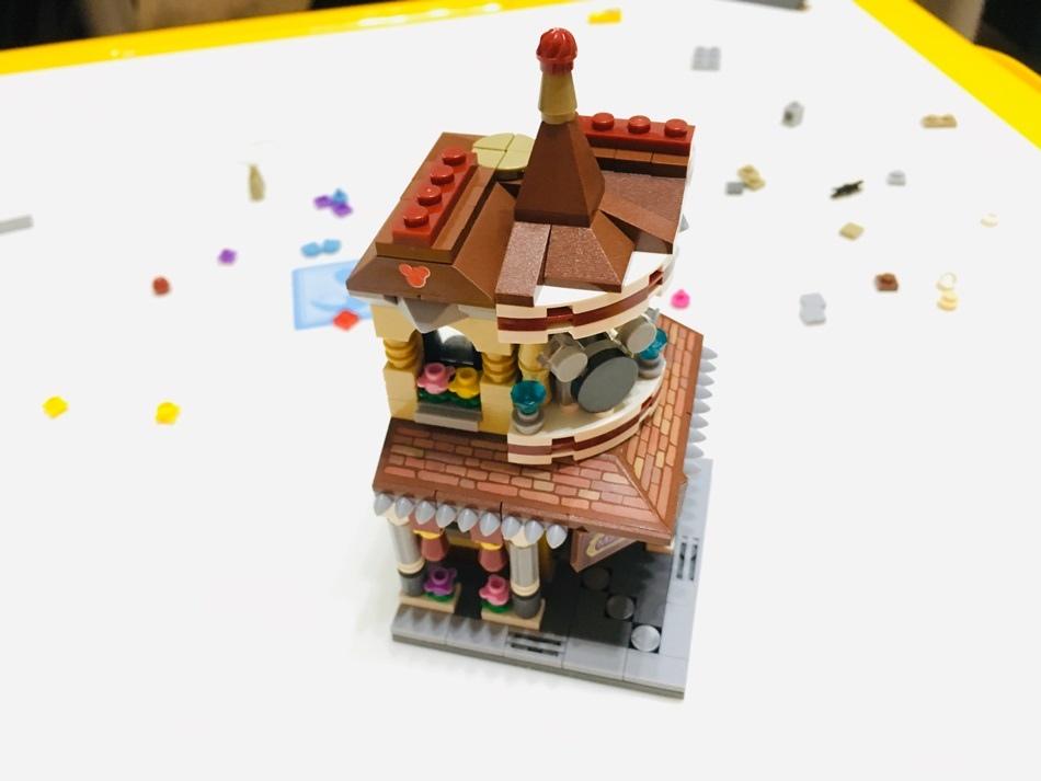 兼容樂高積木推薦UTmall迷你街景系列商店街景LOZ迷你鑽石小積木購物中心開箱