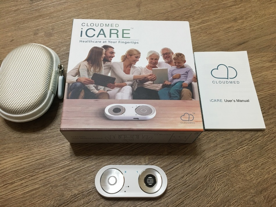 在家也可以健康檢查云醫智能icare八合一健康檢測儀透過簡易的量測方式隨時隨地都可以用、方便攜帶、能長期追蹤