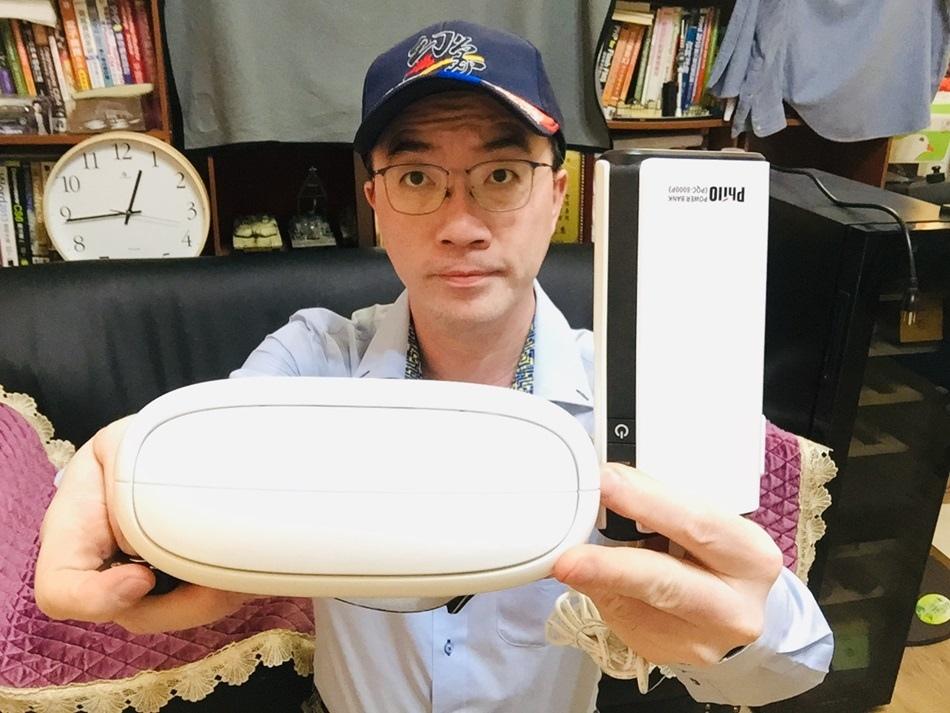AURAI Rio水波式熱敷眼部按摩器長期需要用眼的使用者常常覺得眼睛乾澀獲得德國iF產品設計獎、日本優良產品設計獎的優秀產品