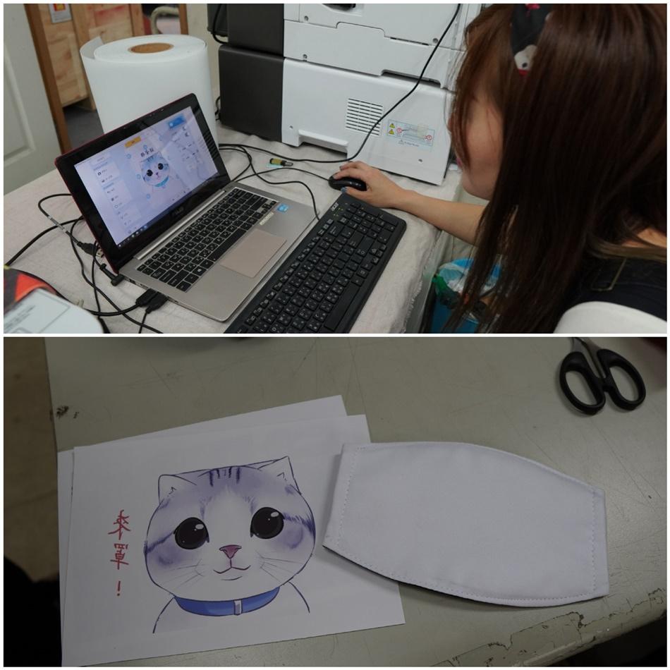 客製化口罩圖片上傳-熱轉印機推薦