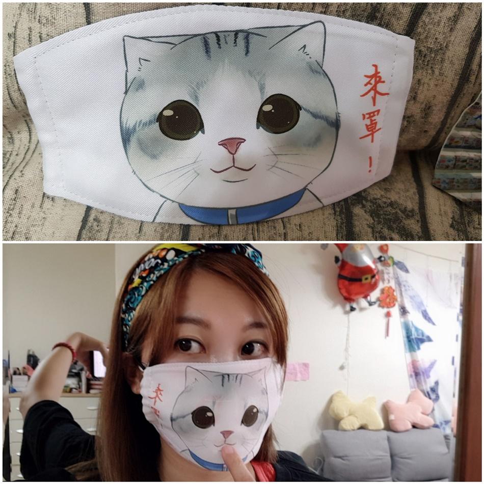客製化口罩印刷成品-熱轉印機推薦