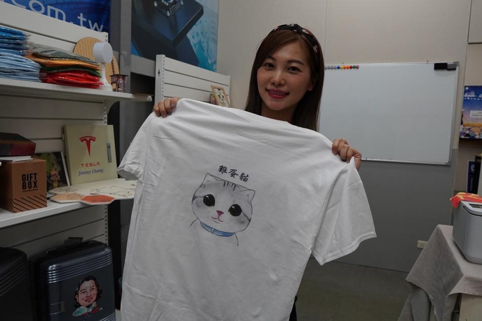 客製化T恤印刷成品-紡織直噴機推薦