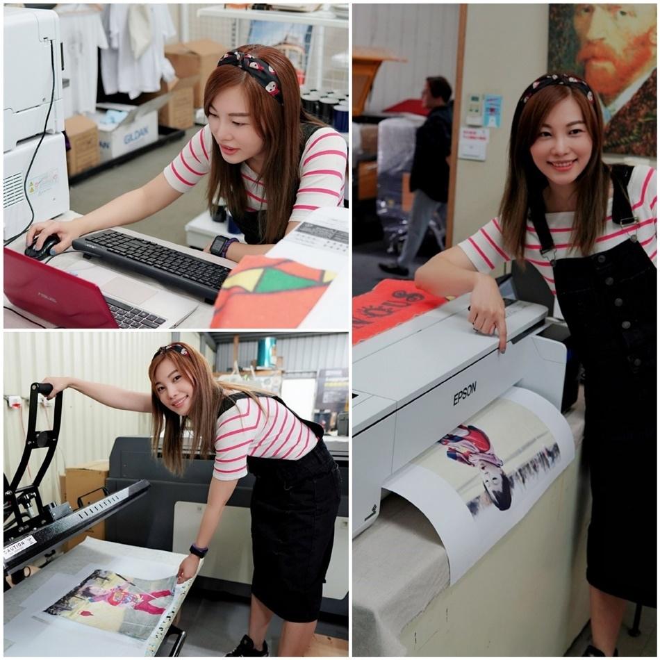 客製化抱枕套圖片印刷流程-熱轉印機推薦
