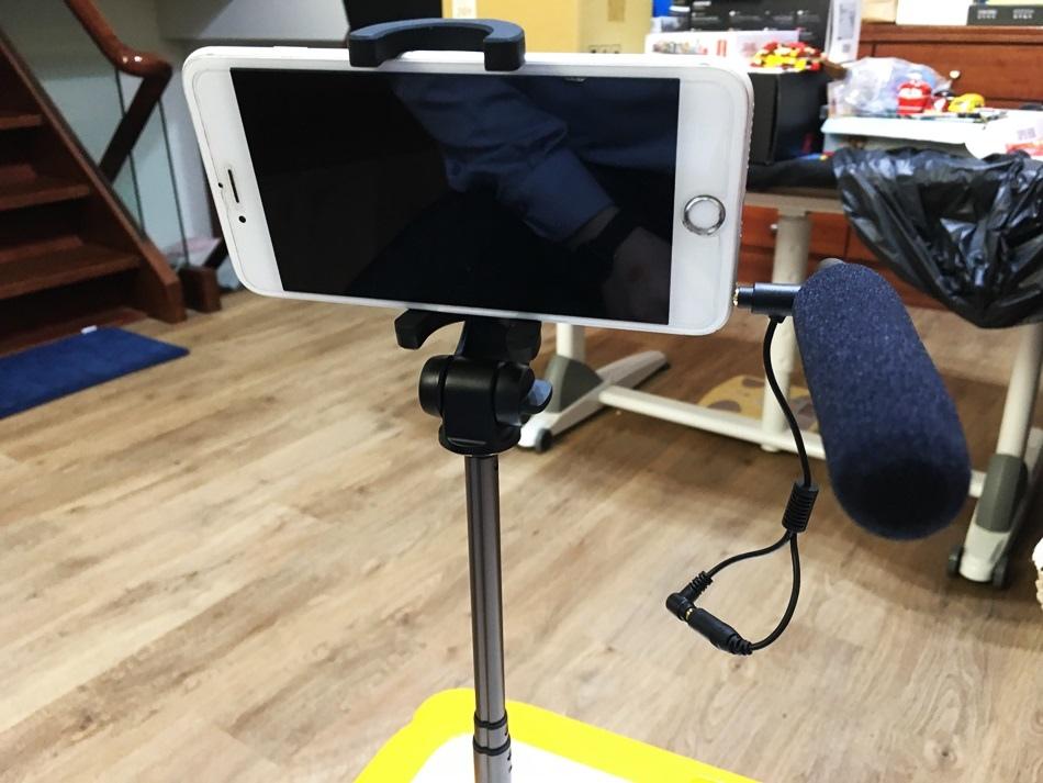 手機直播麥克風│攜帶型指向式麥克風YTM-706e高感度指向性麥克風不僅重量輕好攜帶,配件中更附防風罩,不管是用相機或是手機,甚至是NB都可隨時錄音