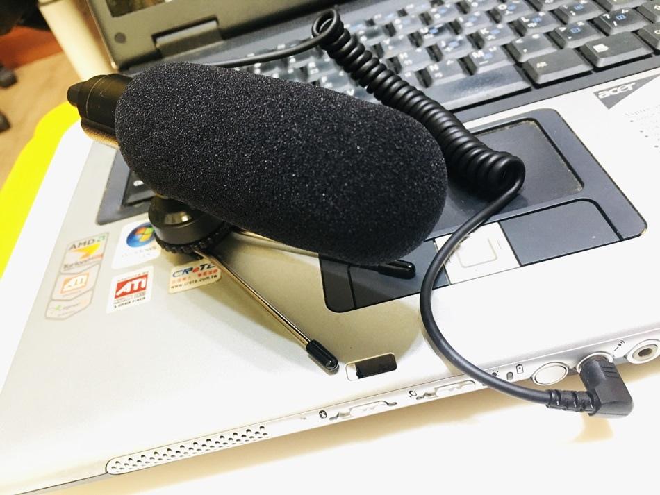 Youtube拍片收錄音好幫手,YTM-118e指向式錄影用麥克風(相機攝影麥克風)外接收音好幫手附上熱靴3.5mm接頭電腦、攝影機專用