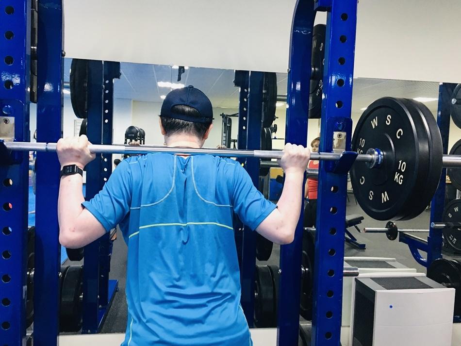 台南一對一健身教女練推薦CA體能工作室,有效的健身課程規劃,私人一對一量身訂做健身課程,有效降體脂肪降體重,給我健康的新人生--第二十堂