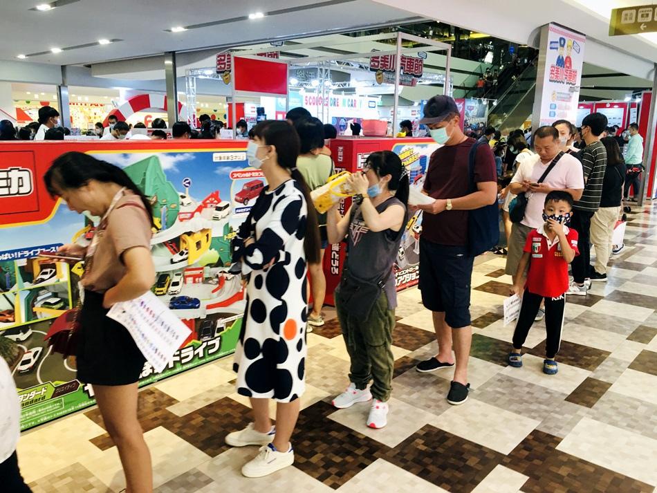 2020今年最後一場南紡購物中心多美小汽車TOMICA50週年小汽車節特展,中華郵政特注車50週年紀念車