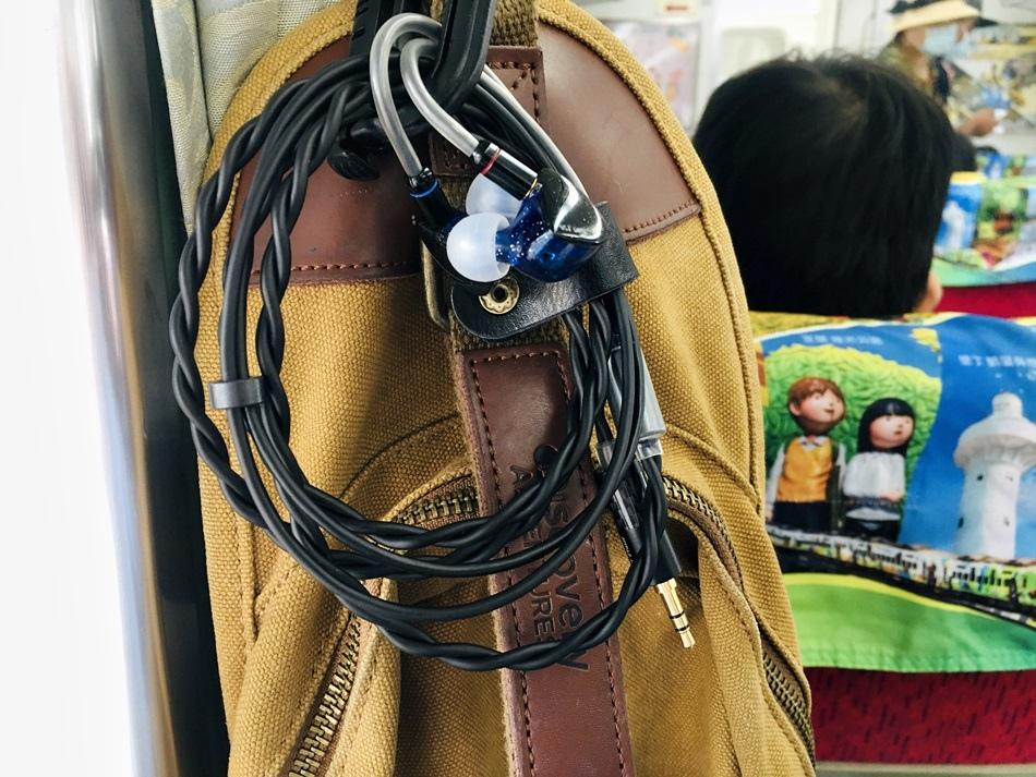 耳機訂製線推薦客製化手工編織耳機志達電子Power Praise闇Dark系列耳道式耳機專用升級線5N單結晶無氧銅線芯