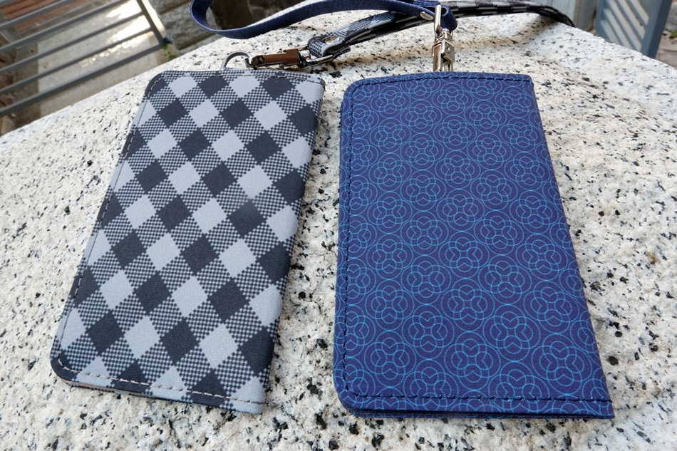手機背貼卡套推薦│ekax手機背貼卡收納卡夾質感皮革雙卡槽可輕鬆收納卡片、鈔票,磁吸式設計,安全保護物品不遺失