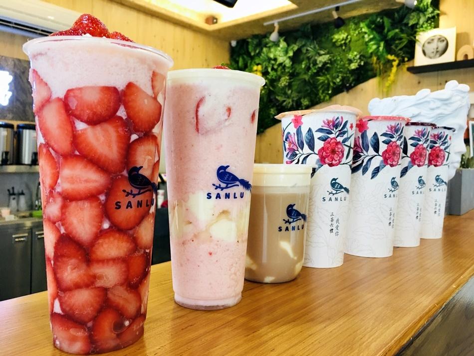 台南季節限定飲料│三露奶茶舖台南崇善店鮮奶麻糬加進飲料一杯可以告白的茶