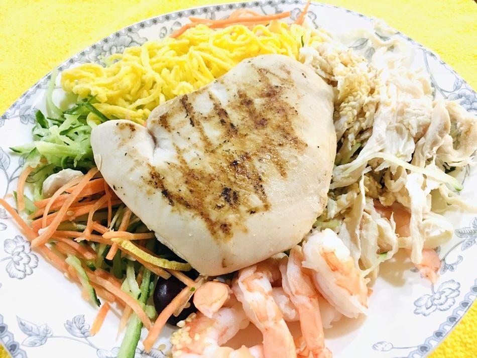 春節禮盒推薦│台南洋爸爸健康餐雞胸肉低脂低卡健康餐盒專業廚師團隊製作,美味舒肥嫩雞胸
