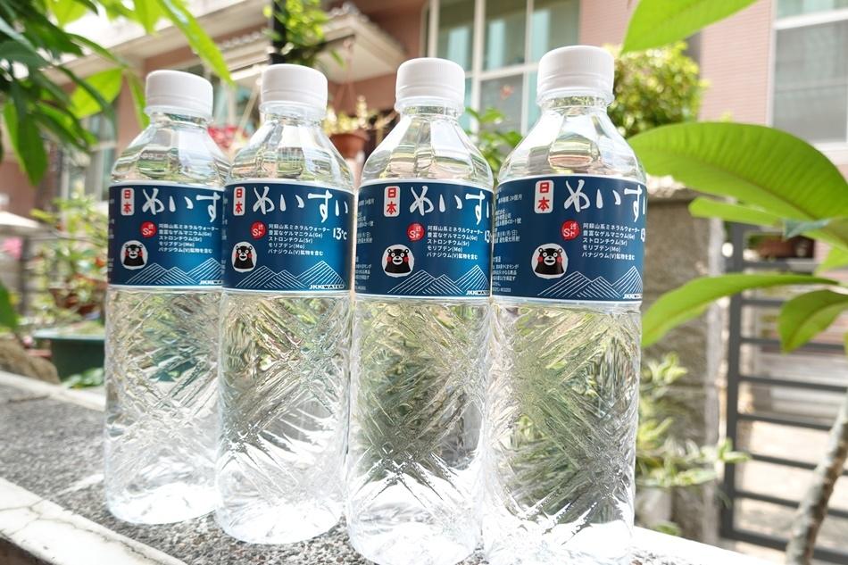 日本礦泉水推薦、軟水推薦來自日本九州熊本的礦泉水,日本名水13度C泡茶全聯就買的到囉