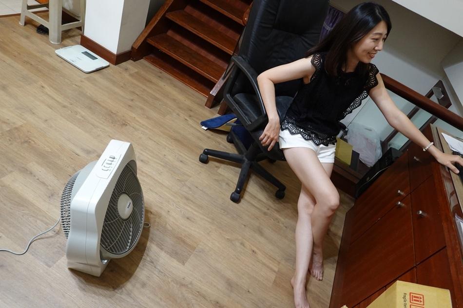 [開箱]台灣製風扇推薦,名象家電 TT-9114,14吋流線造型,風向可上下仰角,夏季涼爽又省錢的好選擇
