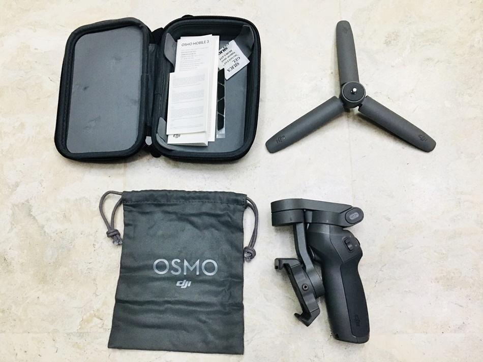 手機三軸穩定器推薦│手機族拍片最佳工具,大疆OSMO MOBILE 3手機穩定器雲台,單手操控一鍵切換,支援智能跟隨續航時間約為15小時