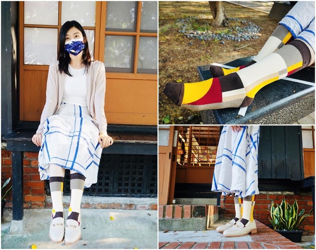 台灣襪推薦│SoundsGood讓襪子當主角台灣設計台灣工藝,最愛時尚潮流SoundsGood繽紛活力的穿搭好變化