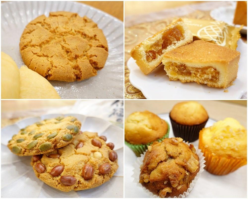 高雄伴手禮呷百二自然洋菓子,來高雄必買名產清單桂圓養生蛋糕,金鑽鳳梨酥、信福煎餅