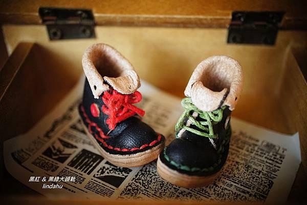 皮靴飾品11