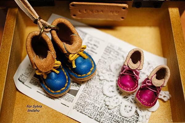 皮靴飾品15