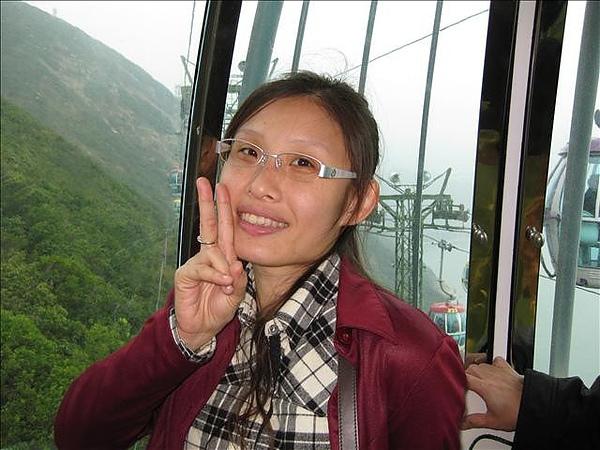 高空纜車~真的很高啊~驚驚