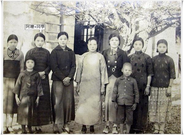 奶奶+同學