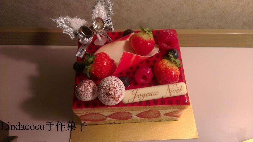 木村成克-法式草莓蛋糕