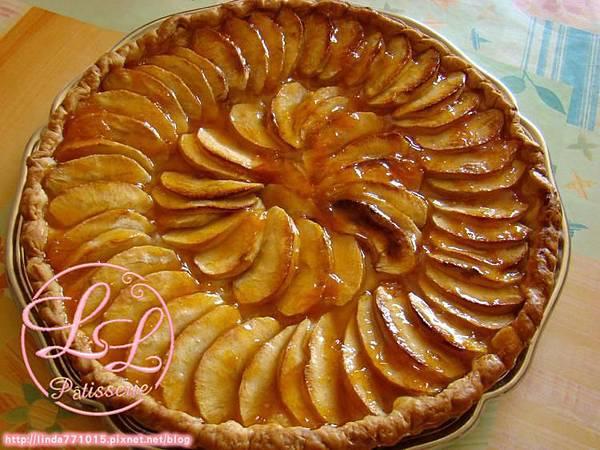tarte-aux-pommes-caramelisees-au-miel-a-l-ancienne