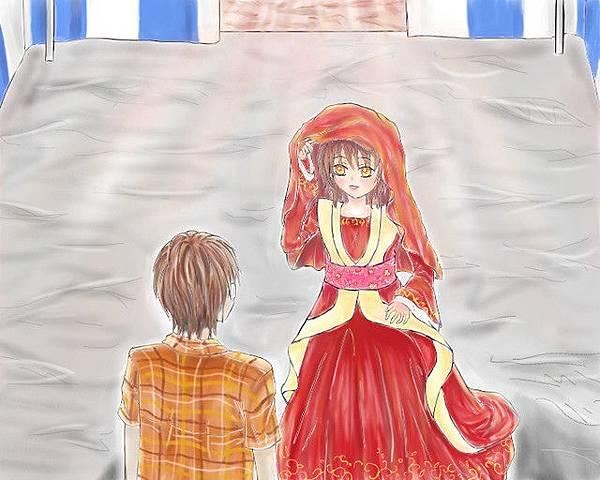 結婚吧(眼見同人圖)