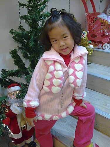 2009/12/24 小岑妹過第一個聖誕節-05