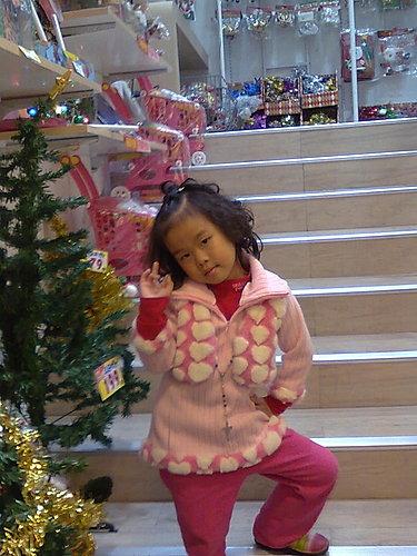 2009/12/24 小岑妹過第一個聖誕節-04