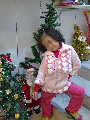 2009/12/24 小岑妹過第一個聖誕節-06
