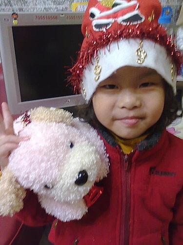 2009/12/24 小岑妹過第一個聖誕節-20