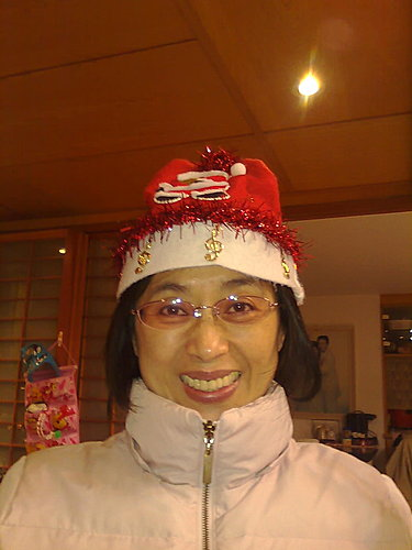 2009/12/24 小岑妹過第一個聖誕節-22