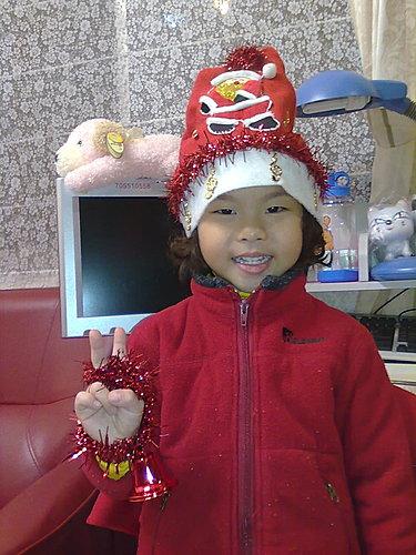 2009/12/24 小岑妹過第一個聖誕節-21