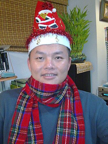 2009/12/24 小岑妹過第一個聖誕節-23