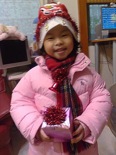 2009/12/24 小岑妹過第一個聖誕節-24