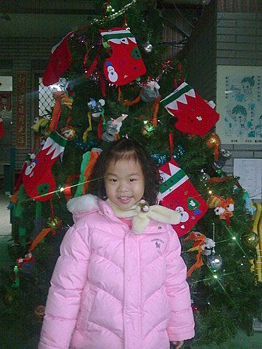 2009/12/24 小岑妹過第一個聖誕節-25