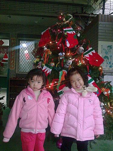 2009/12/24 小岑妹過第一個聖誕節-26