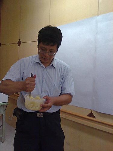 社區大學~料理篇2009.11.1