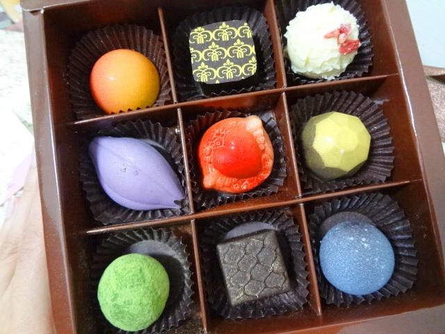 精選9入手工單品巧克力禮盒