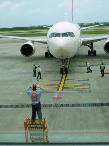 日本航空飛機~~就是要搭這台..
