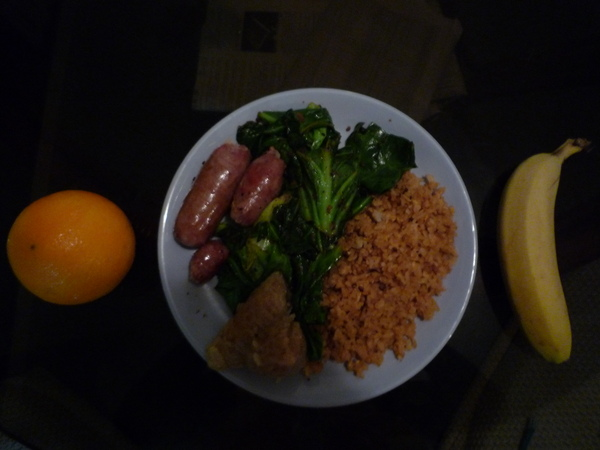 我的端午節晚餐....自己下廚的唷