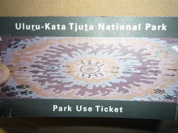 Uluru門票.JPG