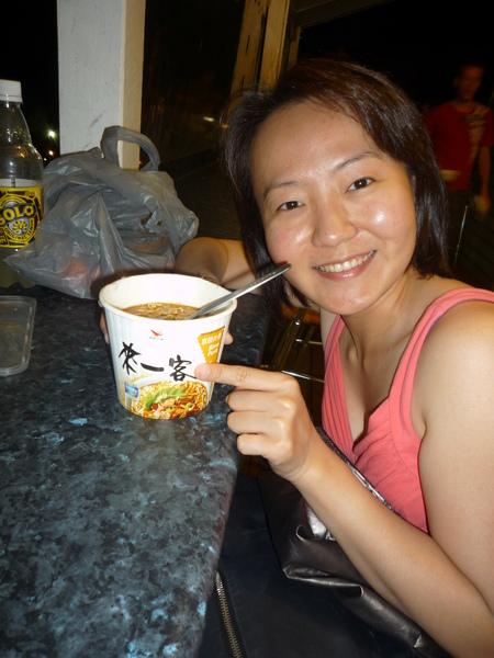 吃到台灣的來一客...好感動喔JPG