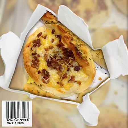 培根乳酪麵包