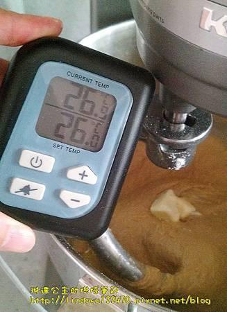 咖啡核桃吐司-攪拌2