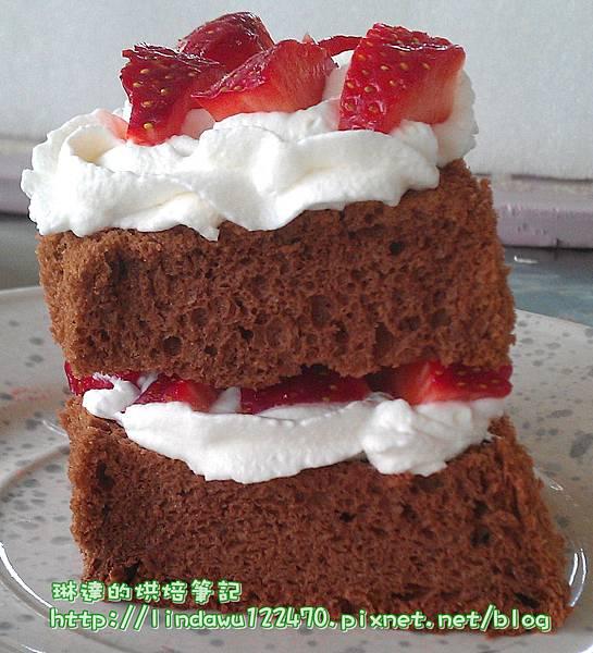 超Q潤巧克力戚風蛋糕-3