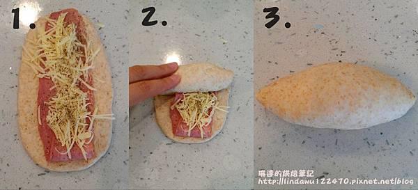 全麥(火雞)培根起司麵包5