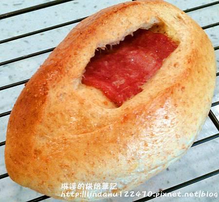 全麥(火雞)培根起司麵包7