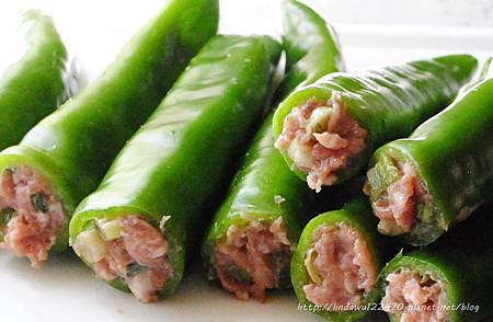 青椒鑲肉 6